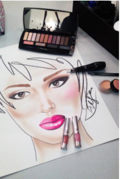 Magazine for makeup artist´s.