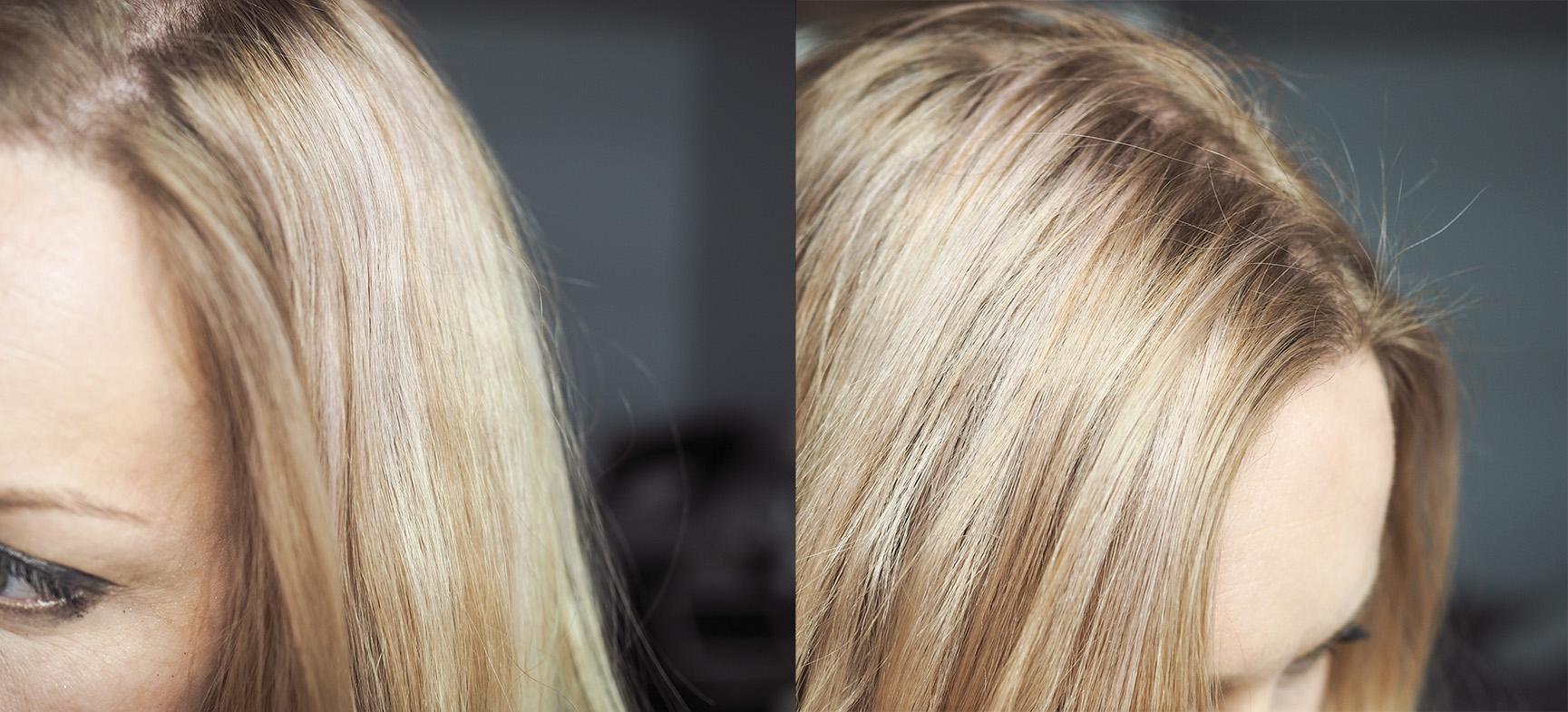 Shampoo himmeille, kiillottomille hiuksille