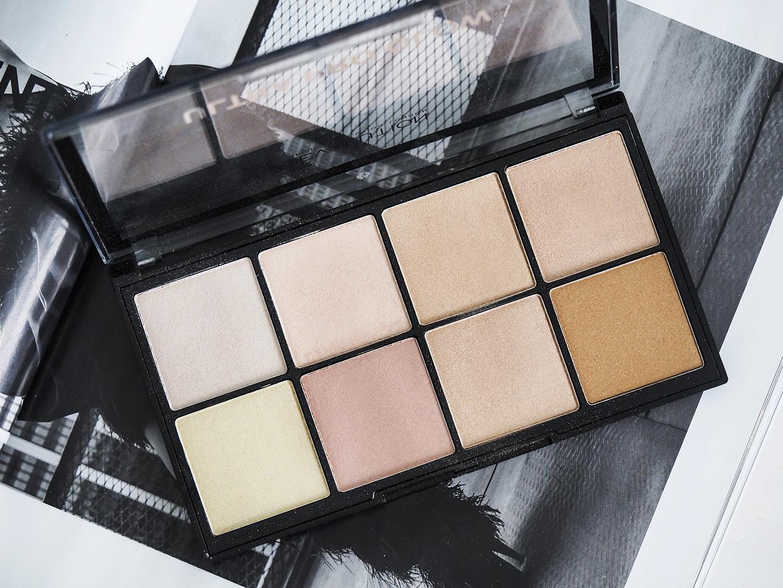 Makeup Revolutionin edullinen ja monipuolinen Glow- paletti