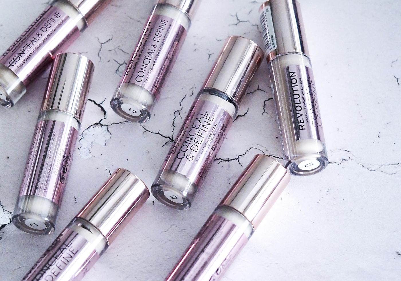 Testissä: Makeup Revolutionin peitevoide ja meikkivoidepuikko