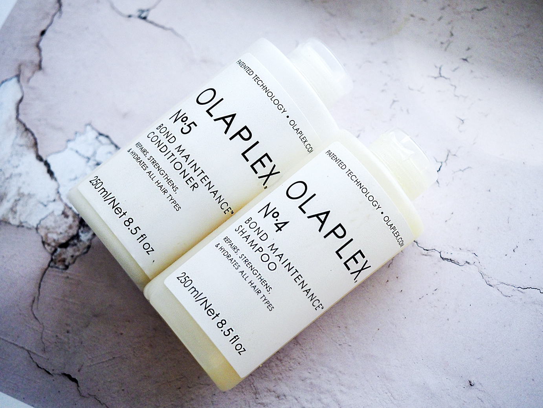 Käsittämätön ja ihmeellinen Olaplex!  Testissä shampoo ja hoitoaine