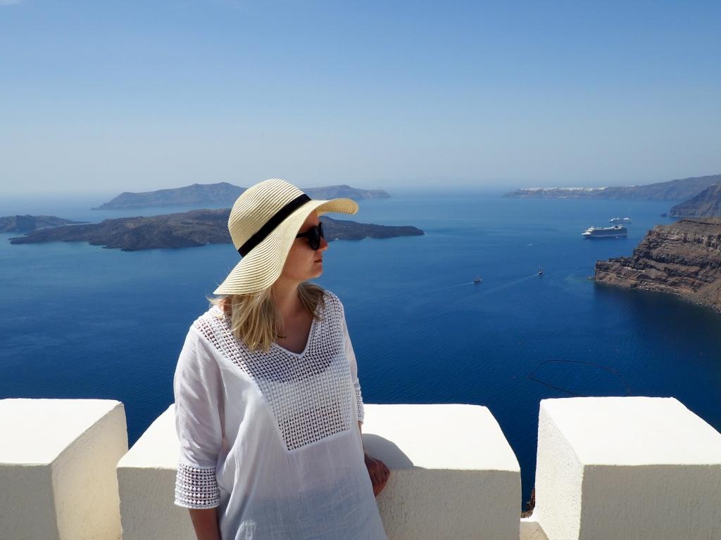 Santorini tekee hyvää