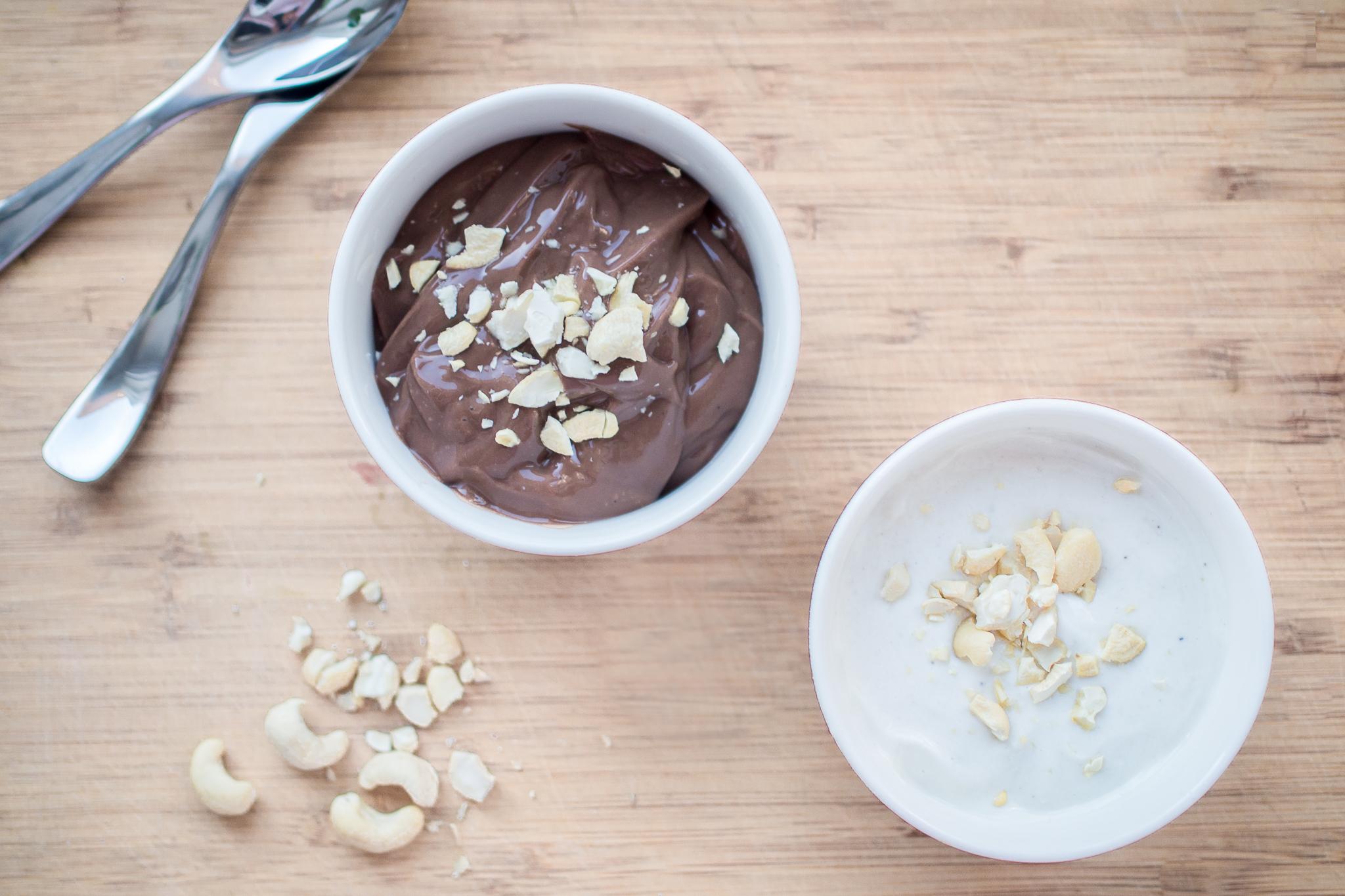 Proteiini pudding