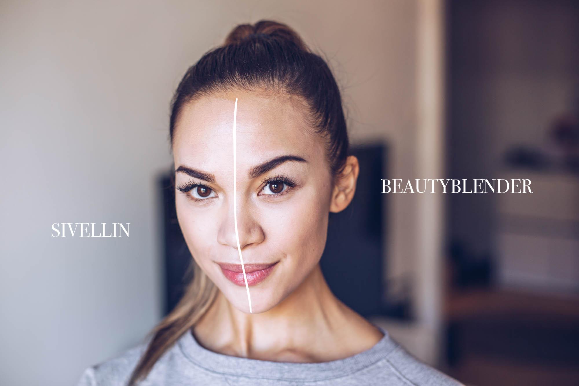 Beautyblender vs. Sivellin