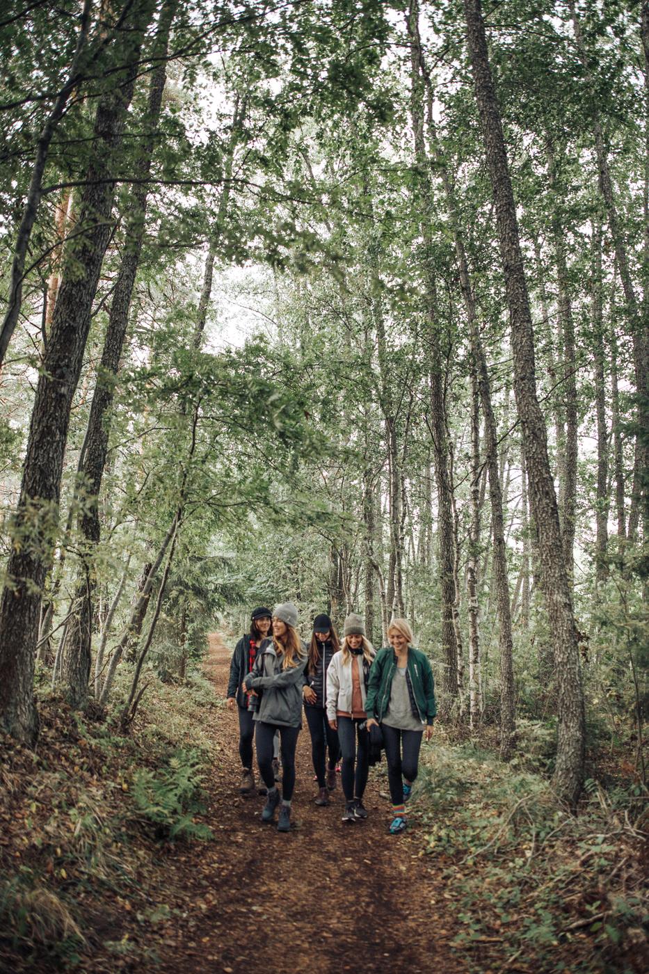 24 tuntia metsässä