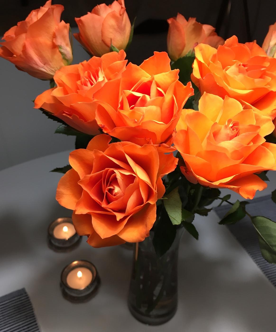 Ruusuja Tinder-matchille