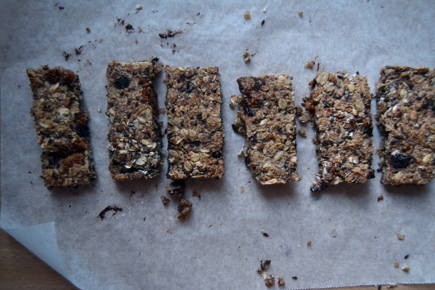 Chocolate Oat Flapjacks