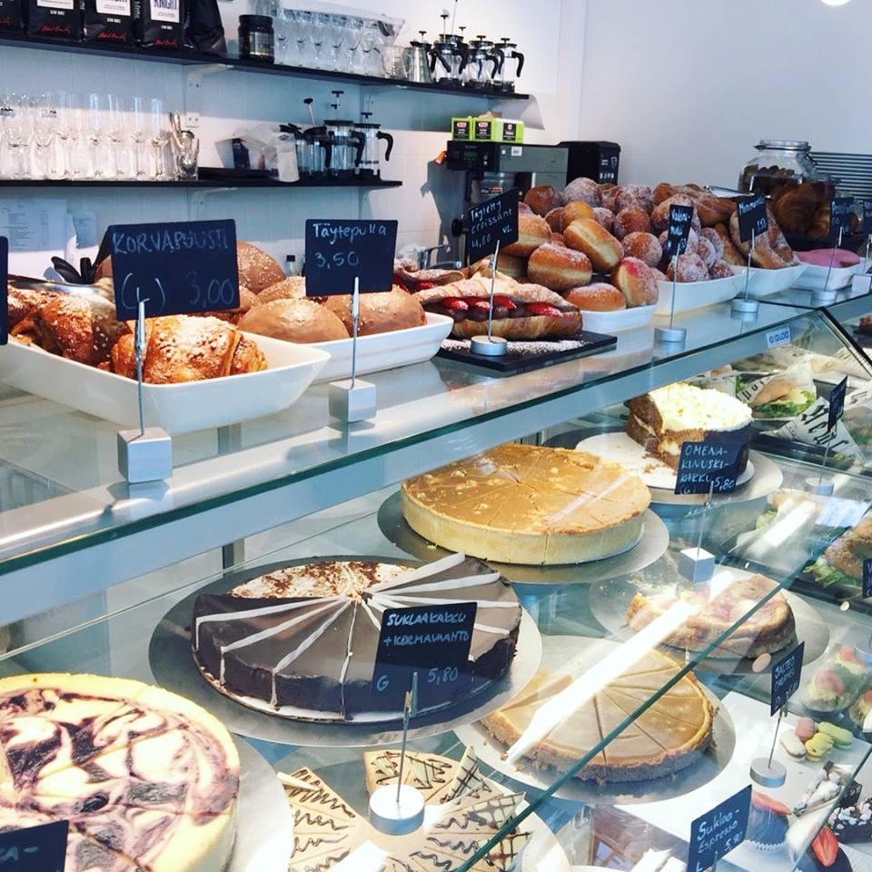 Gluteenittomat kahvilat Helsingissä