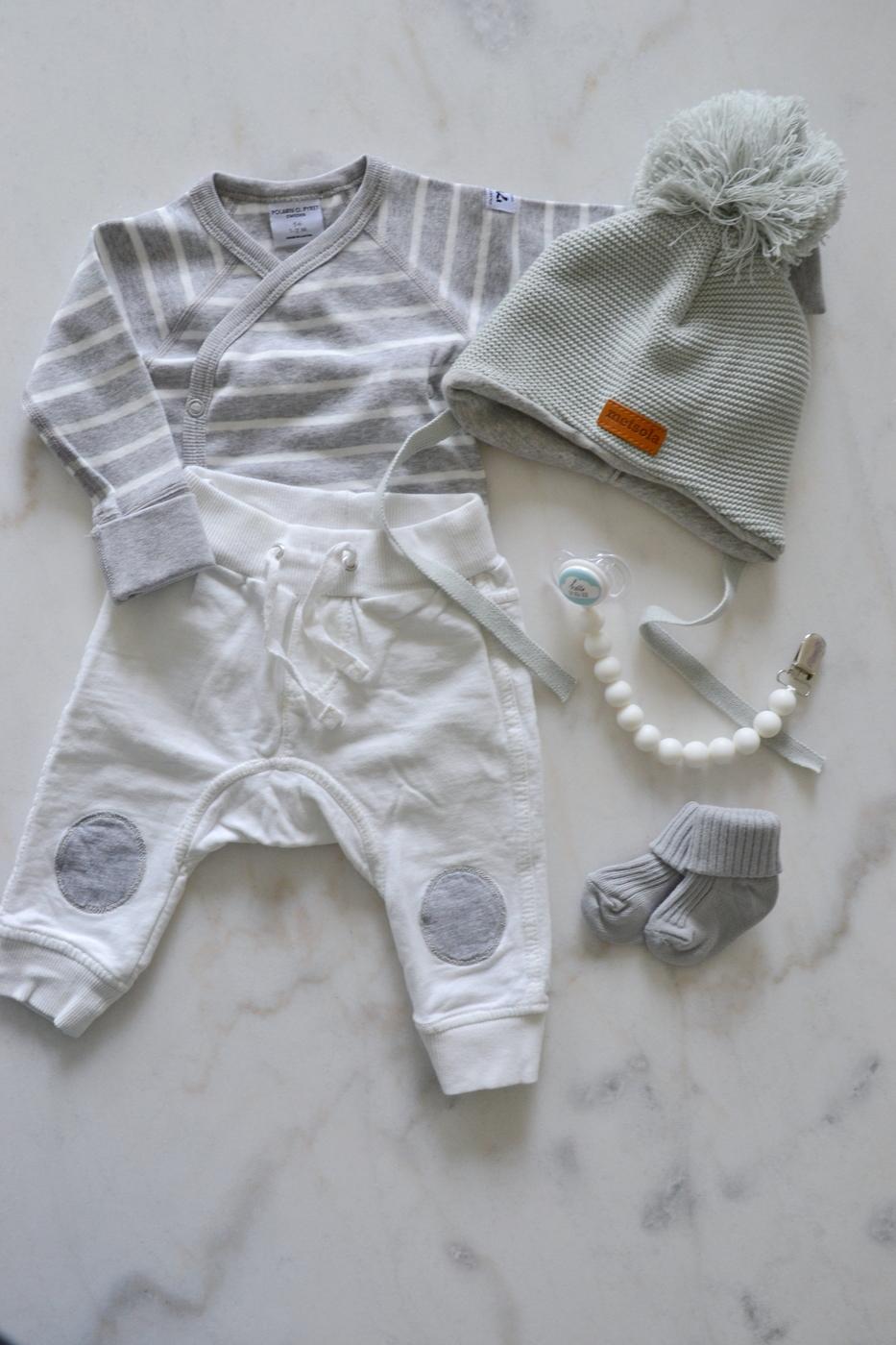 Vauvan hankinnat osa1: Vaatteet