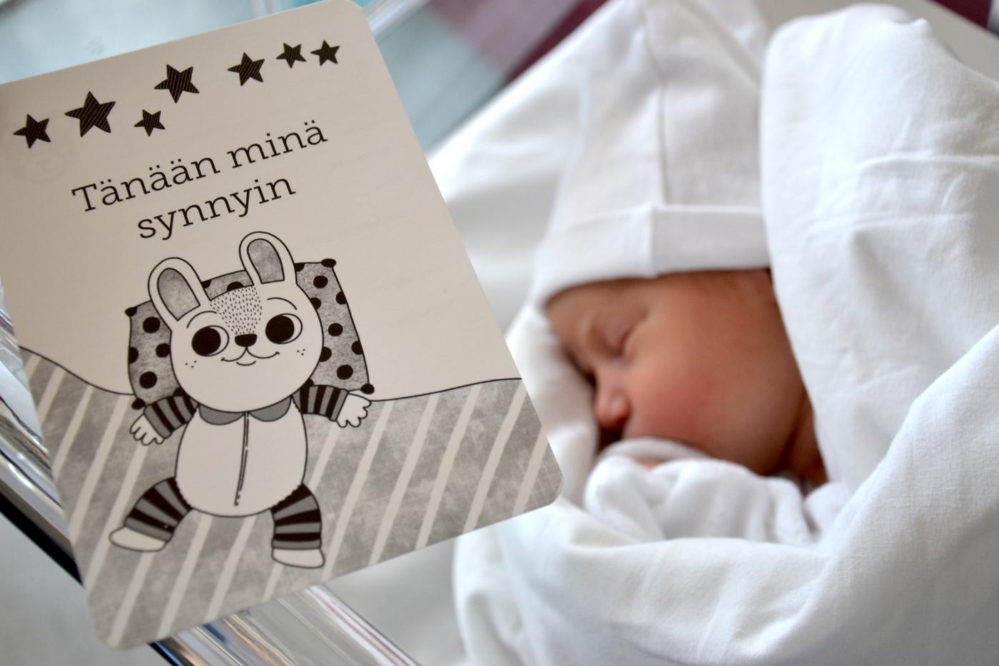 Ensimmäiset viikot vauvan kanssa