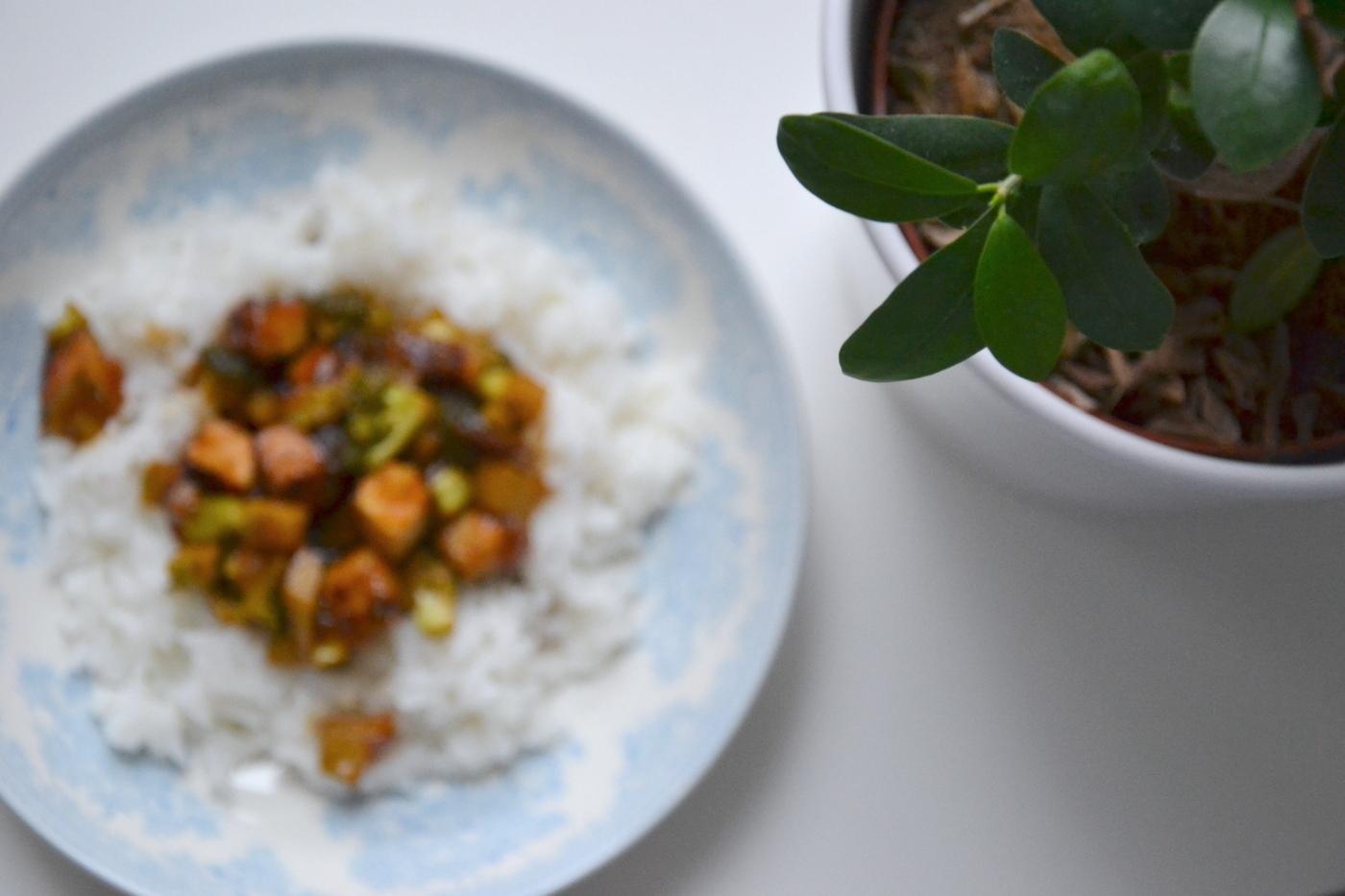 Tofubroccolipaistos