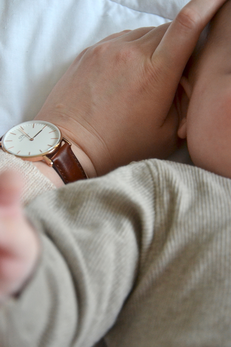 Ajankäyttö vauvan kanssa
