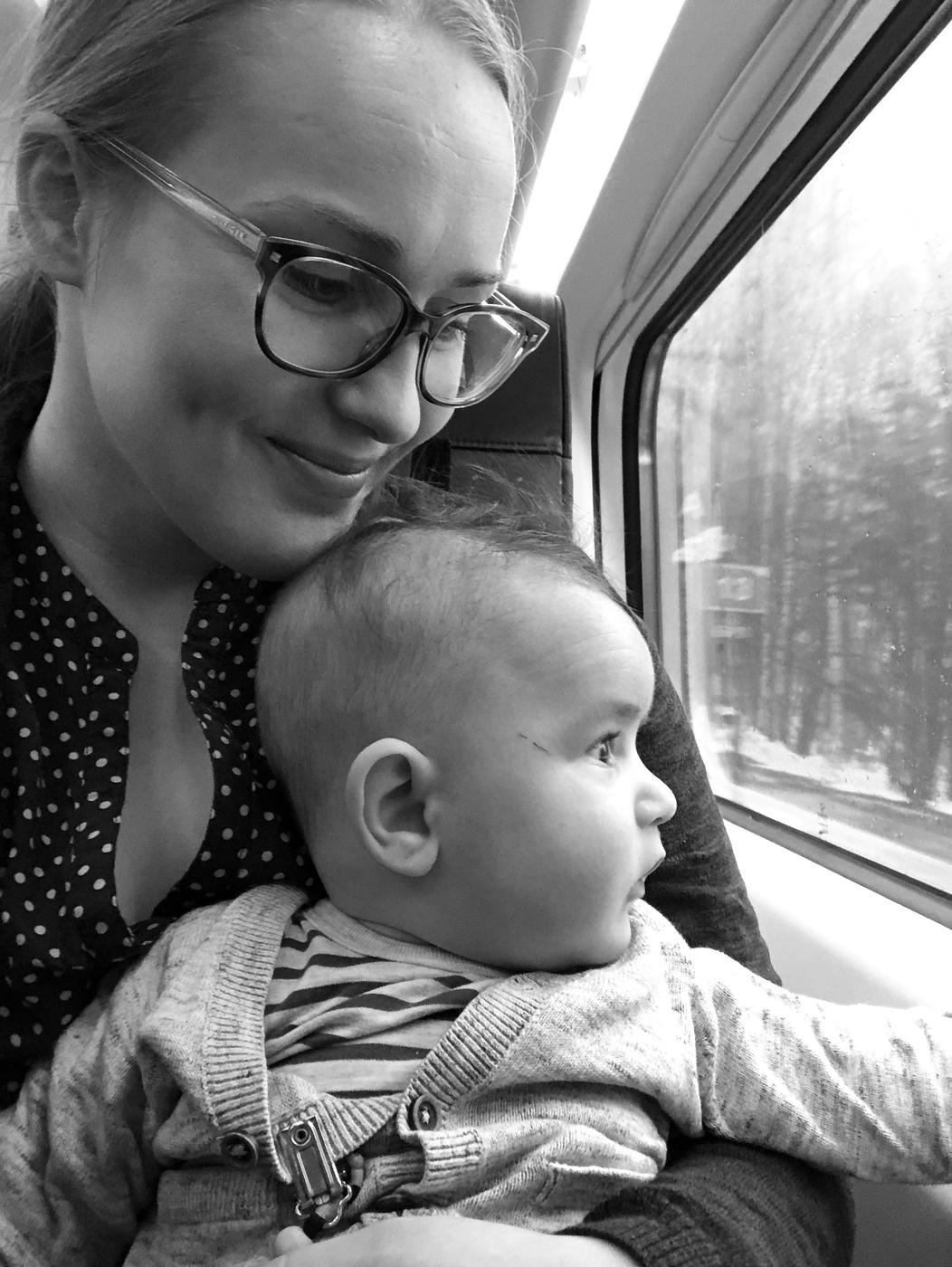 Vauvan kanssa Turkuun