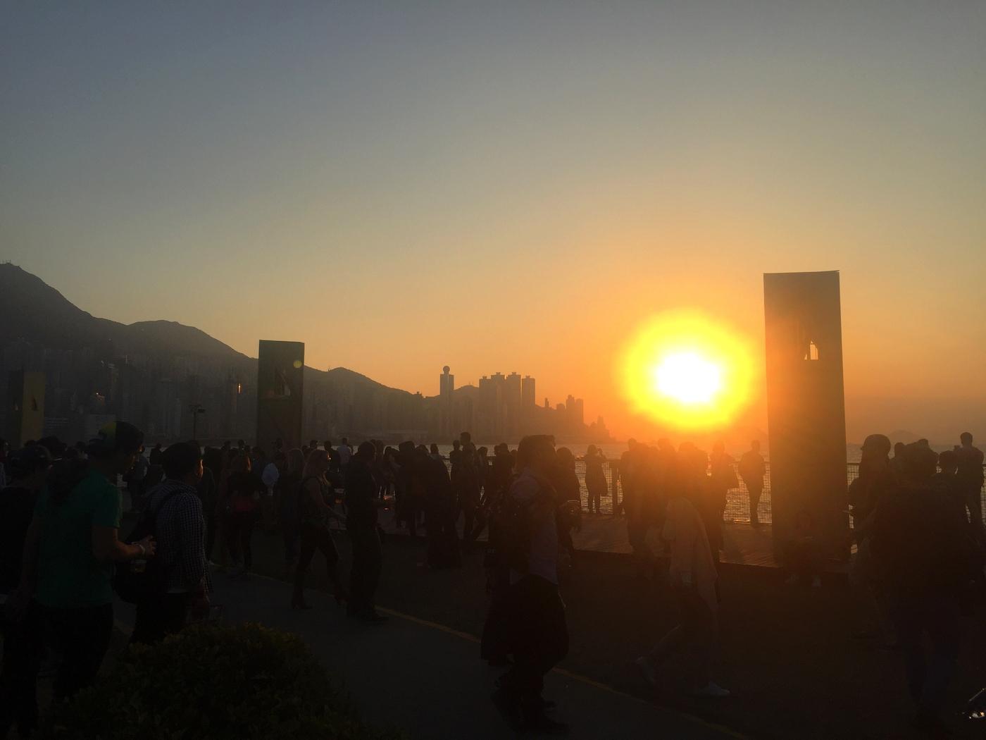Festivaalihuumaa Hongkongissa