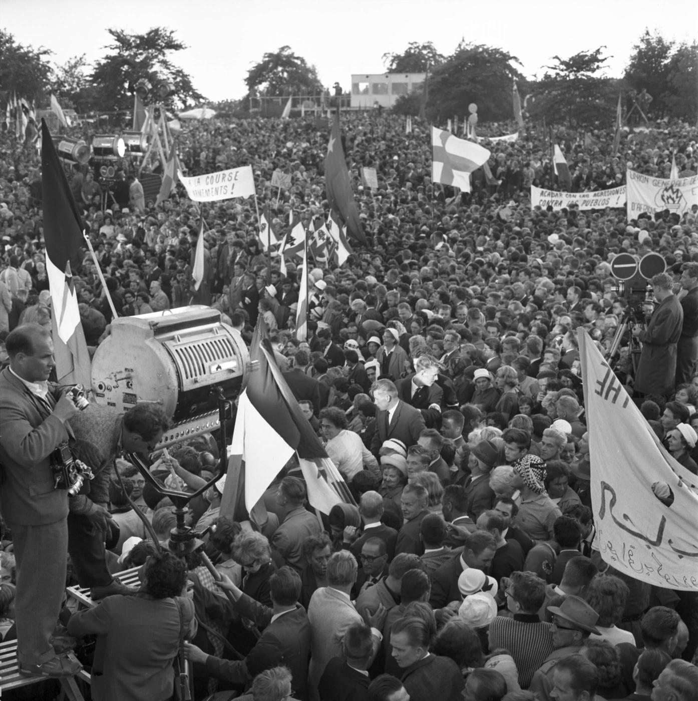 Hiljaisuuden muistit II: Minna Henriksson ja Araba Evelyn Johnston-Arthur: Festivaali 1962