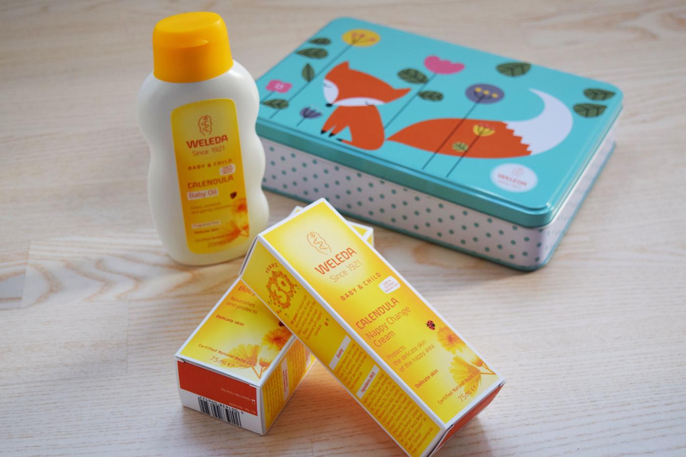 Vauva hoitaa ihoansa (ja WELEDA-ARVONTA!)