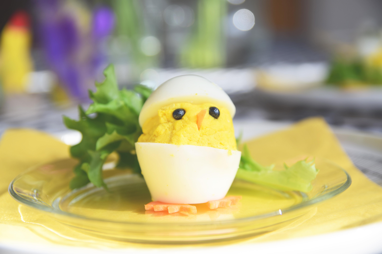 Tipu kananmunassa (ja onni syömessä)