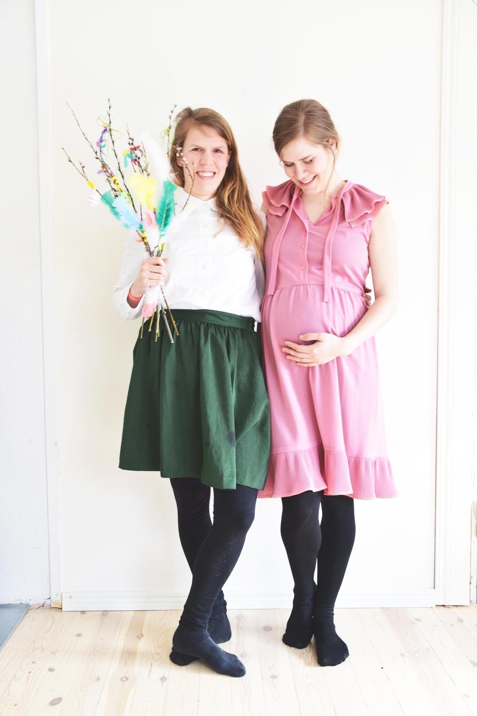 Me ei olla koskaan raskaana