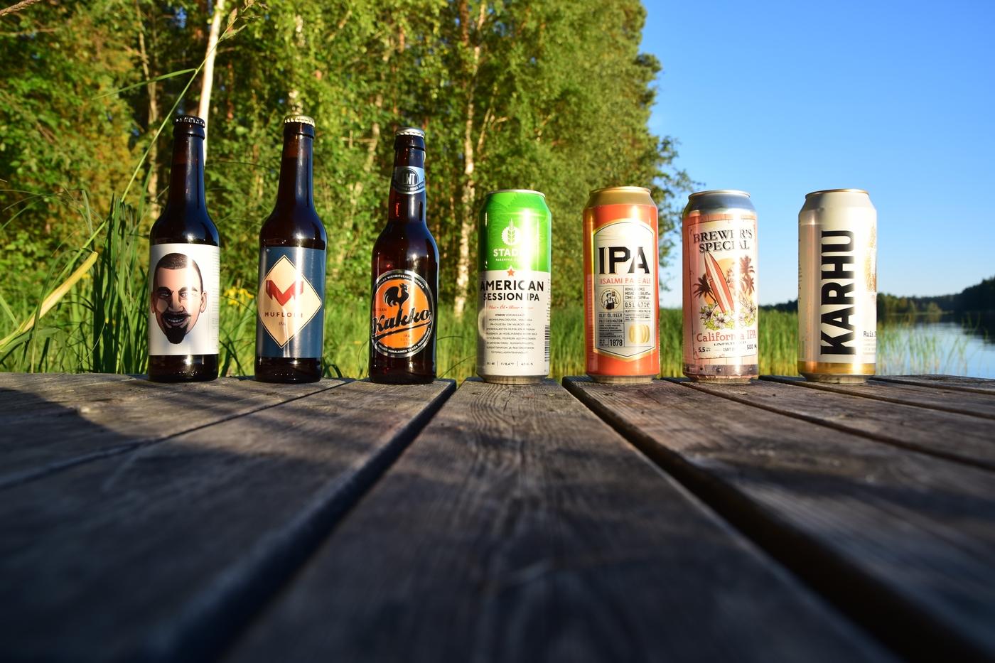 Maistuuko katkeruus oluessa vai avioliitossa? – marketti-ipat testissä