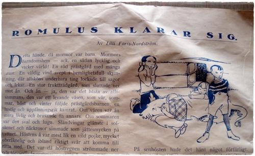 Oodi vanhoille lehdille – eli Tove Jansson taiteilee