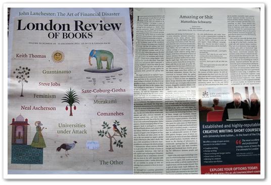 Lehdistökatsaus: ulkomaiset kirjallisuuslehdet