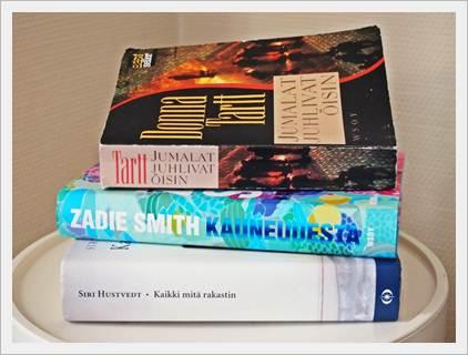 Lukuromaanit: mitä suosittelet, mitä luettaisiin yhdessä?