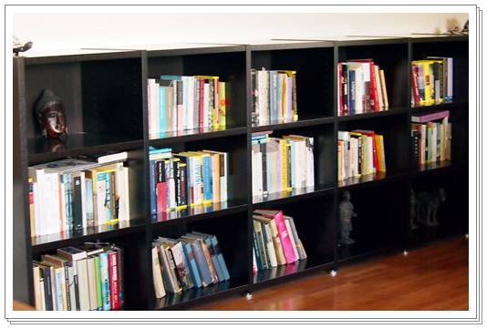 Kirjahyllyn järjestämisen lyhyt oppimäärä