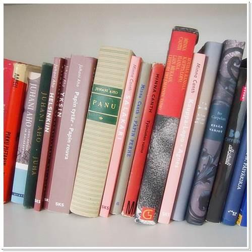 Suosituksia omasta hyllystä: Kotimaista kaunokirjallisuutta