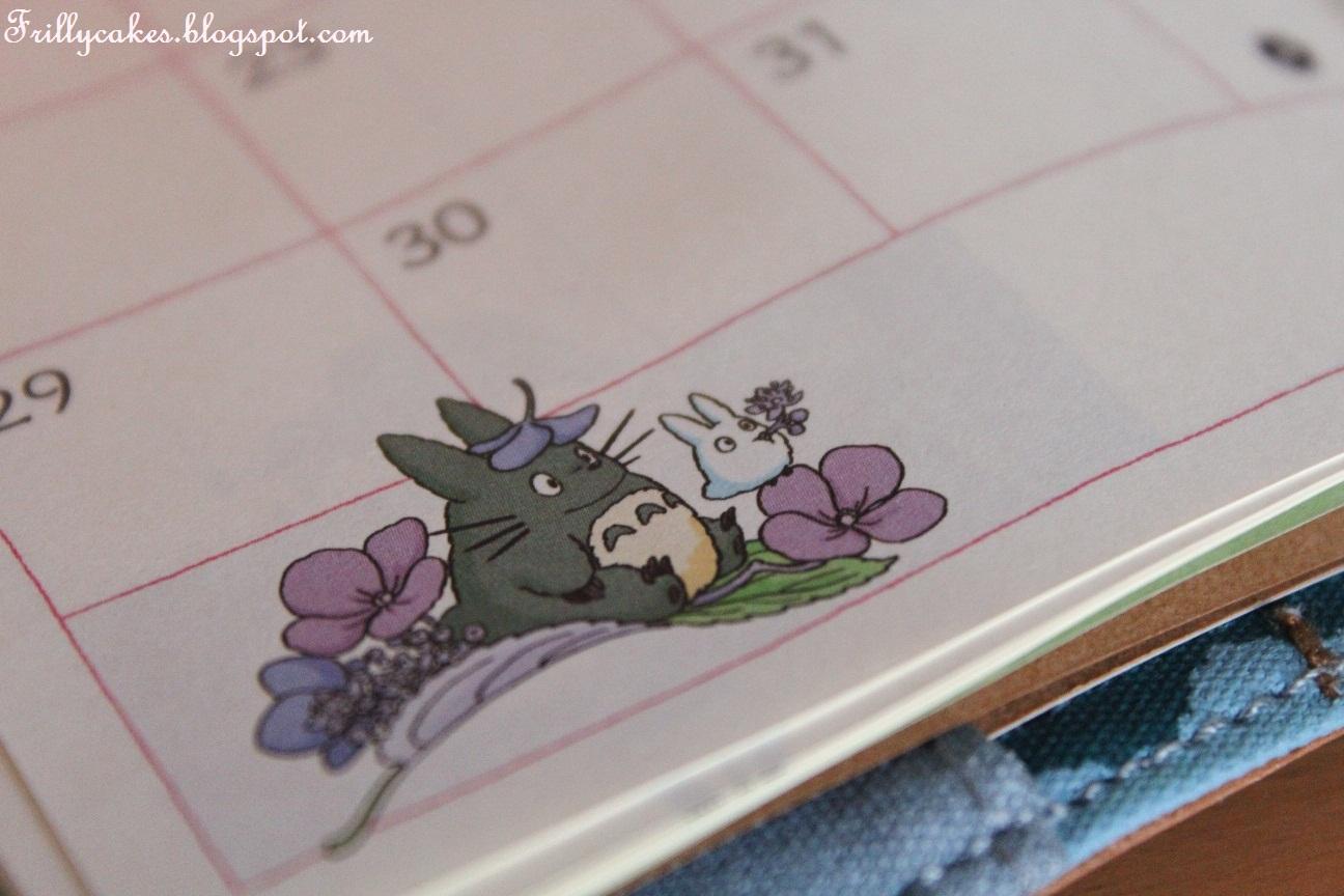 Totoro-kalenteri