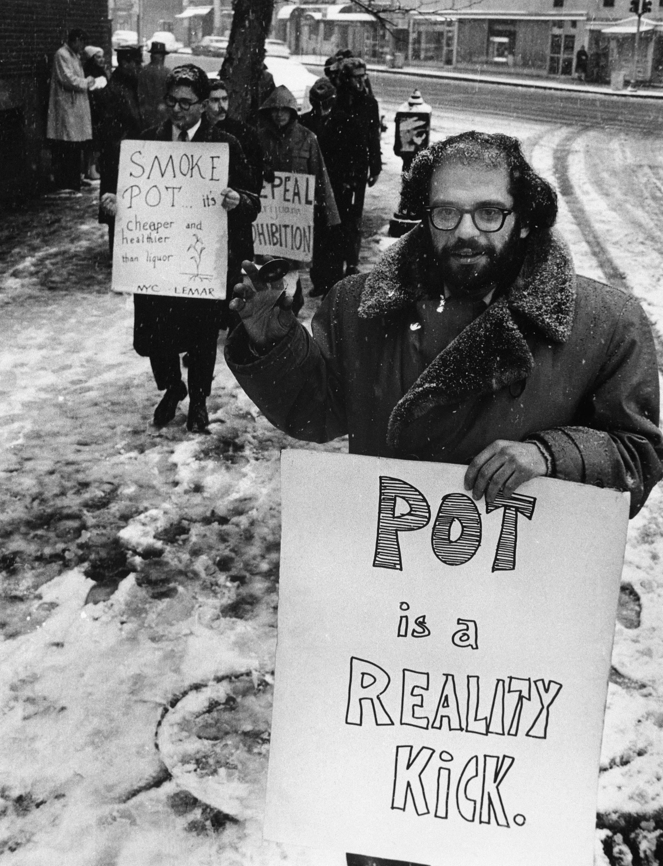 Kuolleiden runoilijoiden kerho: Allen Ginsberg