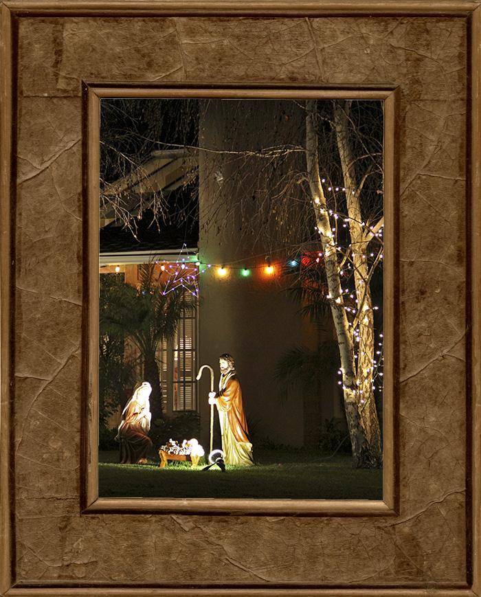 Jouluvalojen kilpavarustelu loppusuoralla (valaistu Jeesus ja muita outouksia)