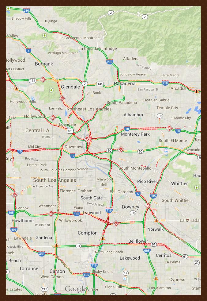 Kalifornian liikenteestä
