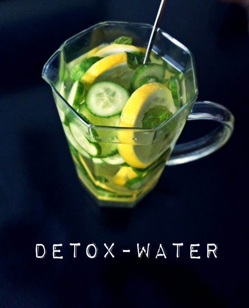 Do it yourself: Detox-vesi