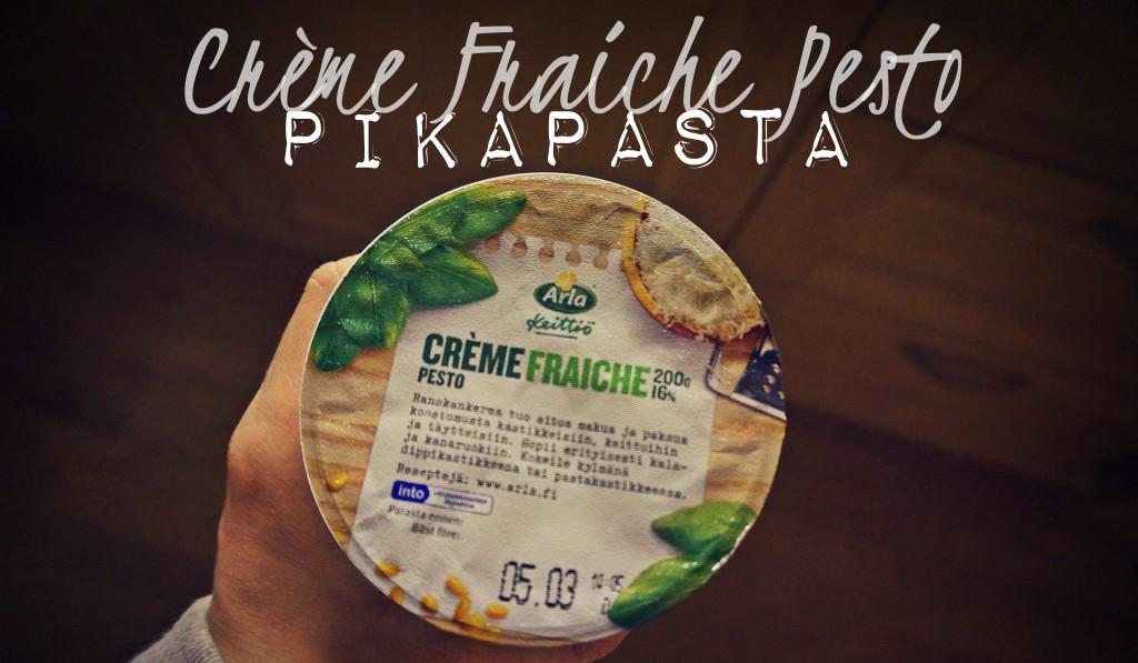 Pesto Creme Fraiche- Pikapasta