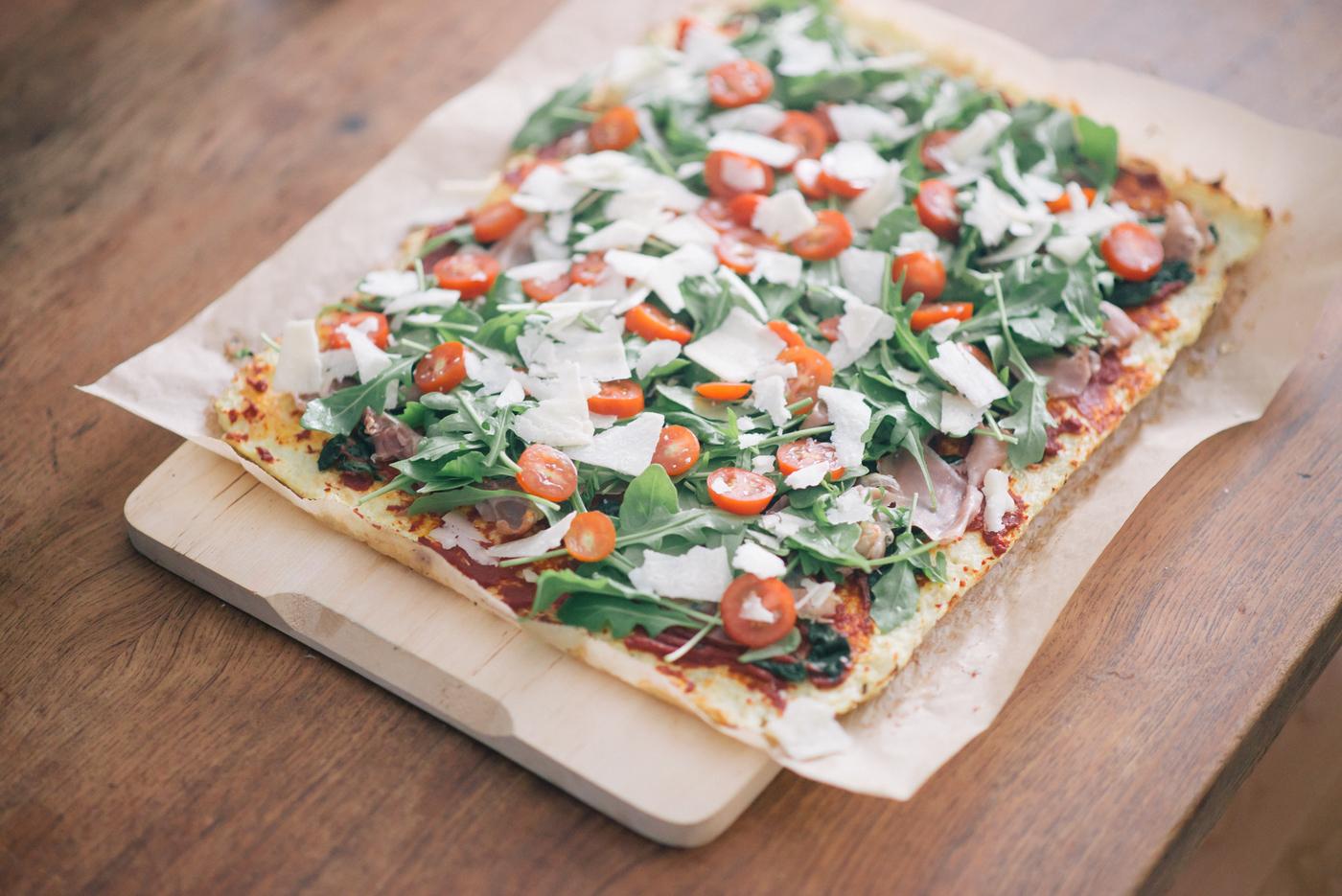 Maailman paras gluteeniton pitsapohja