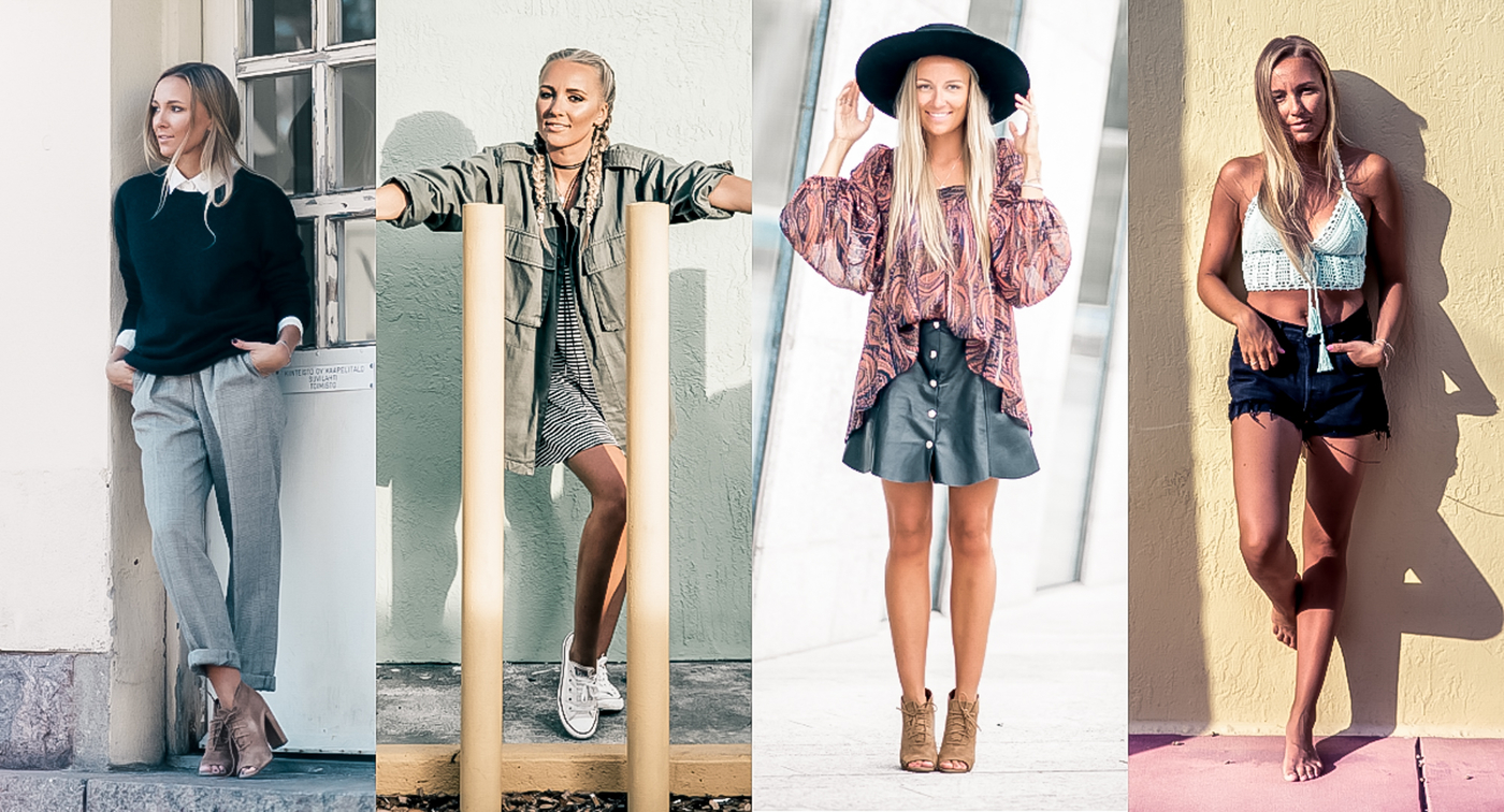 64 outfits of 2016