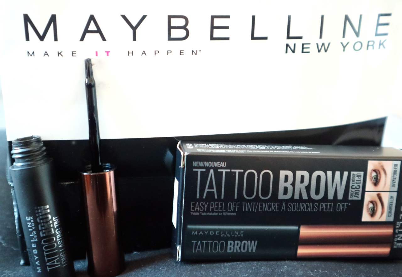 Maybelline Tattoo Brow -kulmaväri