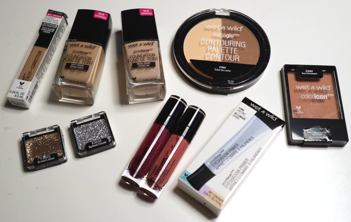 Kosmetiikkabloggaajien joulukalenteri luukku 7 – Wet'nWild parhaat uutuudet + arvonta