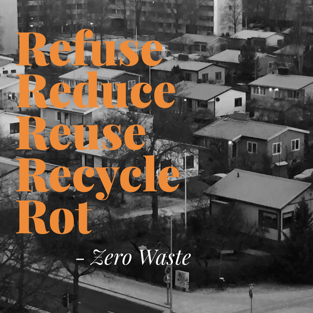 Zero waste -haaste, viikko 2/4