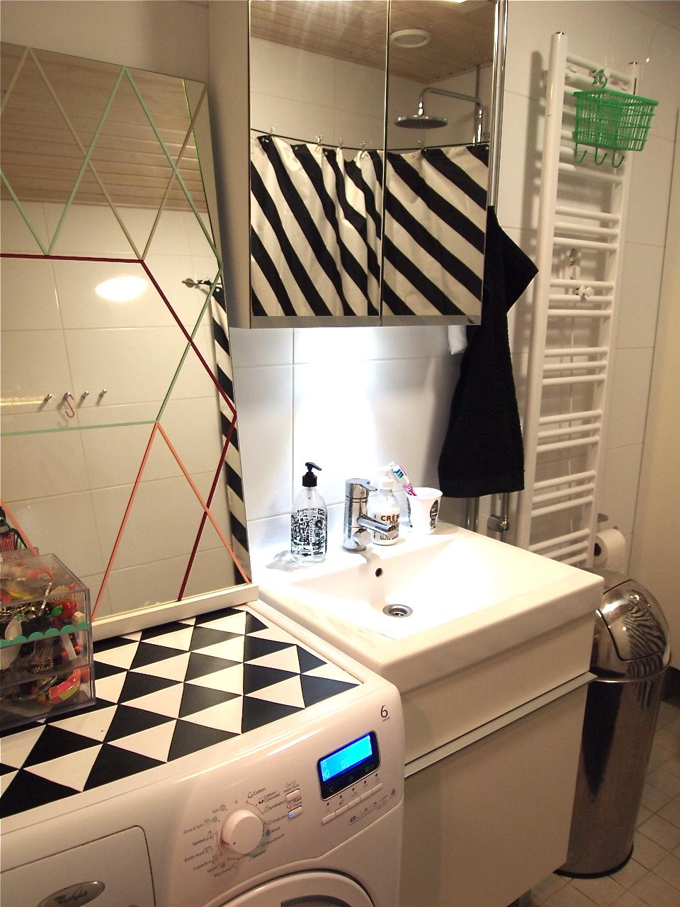 Meidän kylpyhuone. Postaussarja: 55 neliötä. Osa 4.