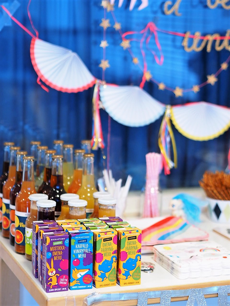 6 vinkkiä lastenjuhliin
