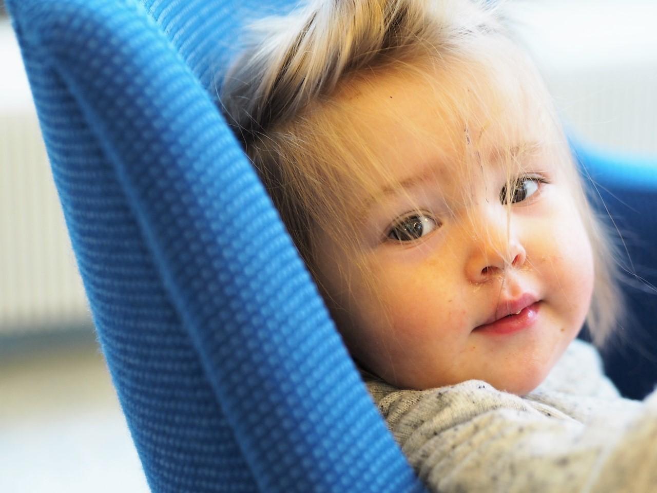 Tyttäreni bloggarina ja graafikkona: Lapsi mukaan töihin -päivä