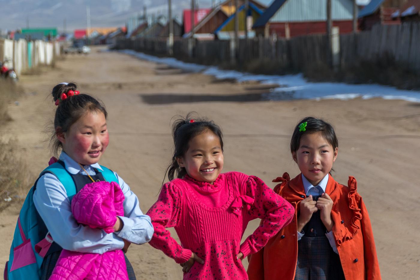 Vapaaehtoistyö Mongoliassa