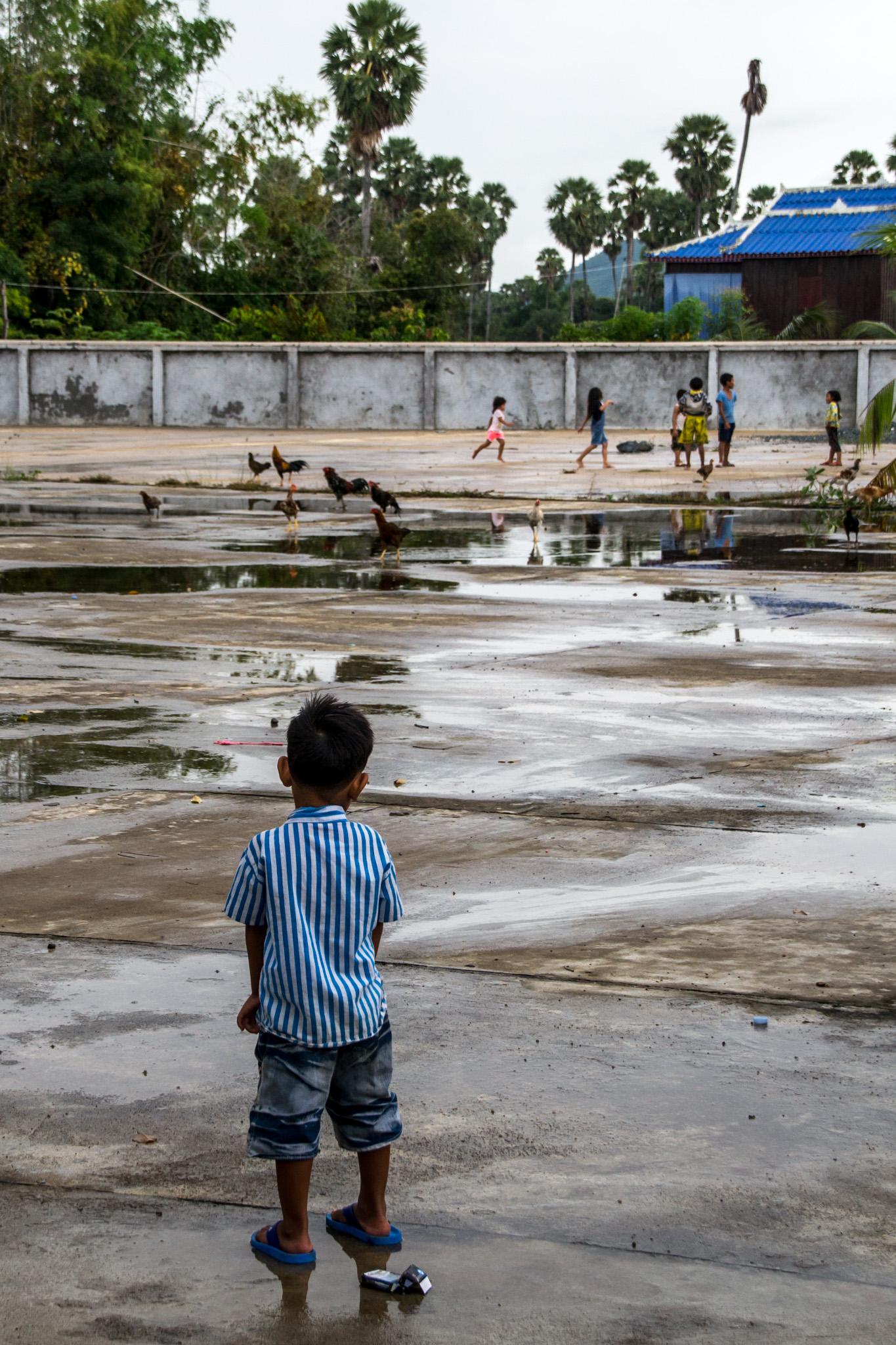 Lapsi Kambodzassa