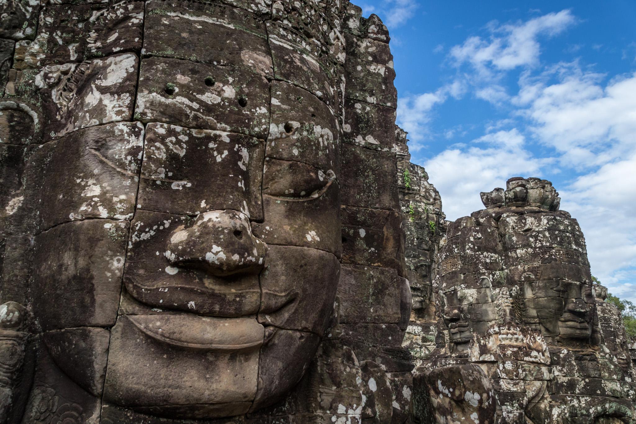 Bayon-temppeli Angkor Thomissa