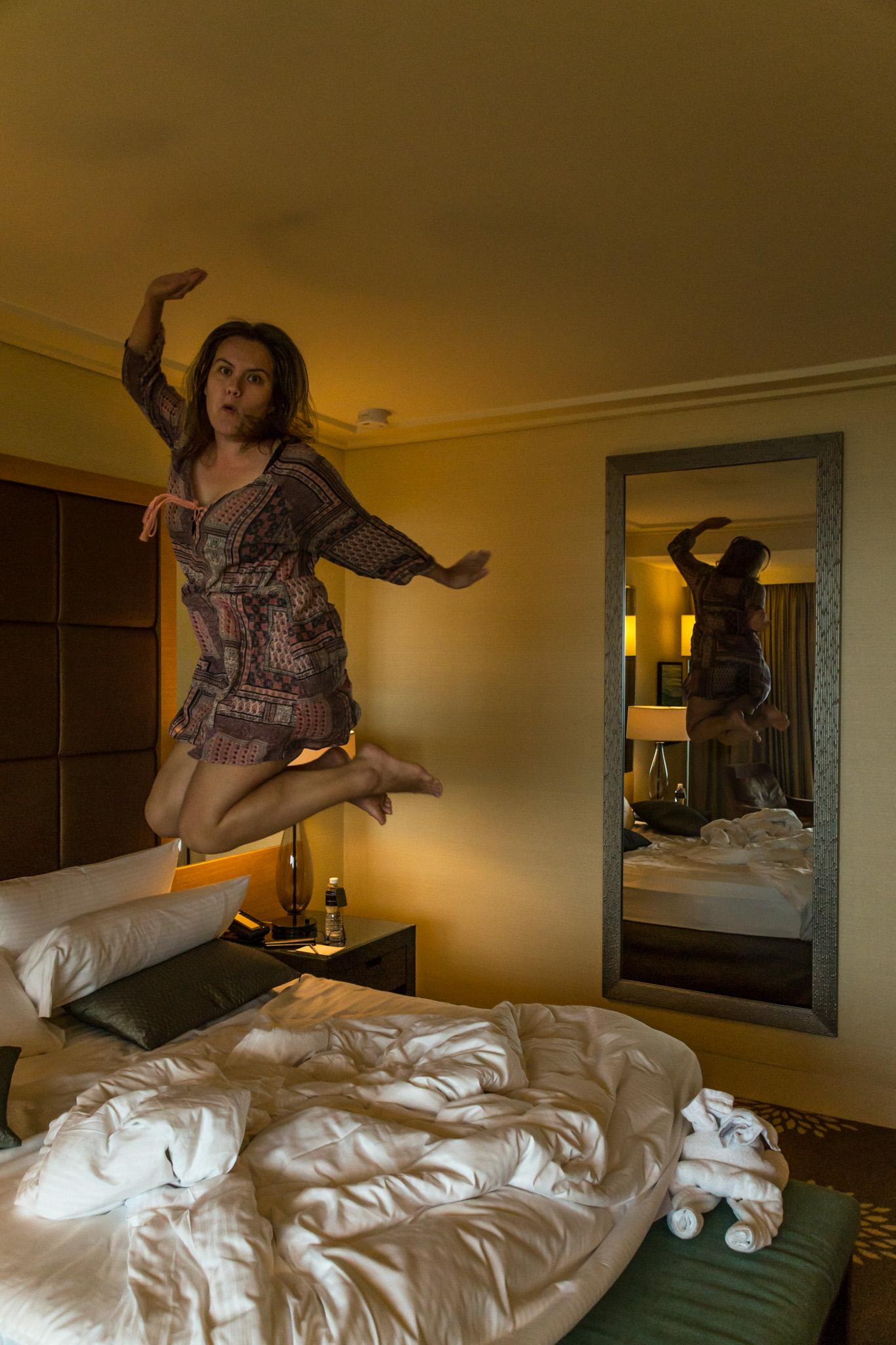 Hotellissa Singaporessa