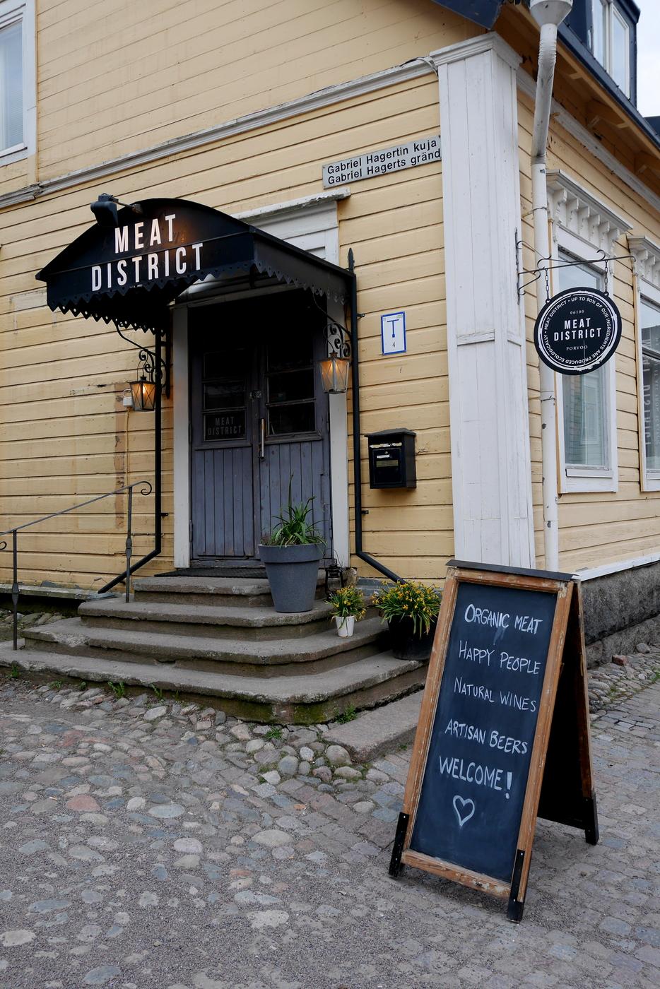 Ravintola Meat District, Porvoo.