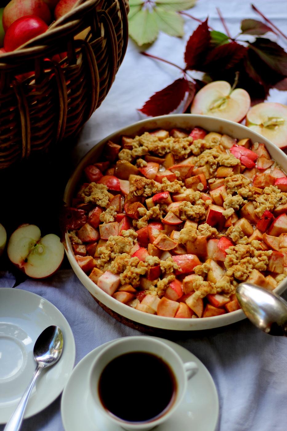 Makea kaura-omenapaistos