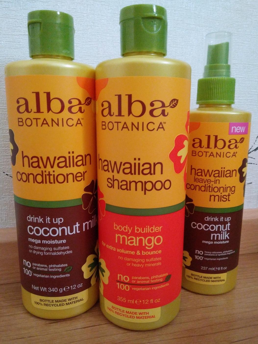 Ajatuksiani hiustenhoidosta: Iso peukku Alba Botanicalle!