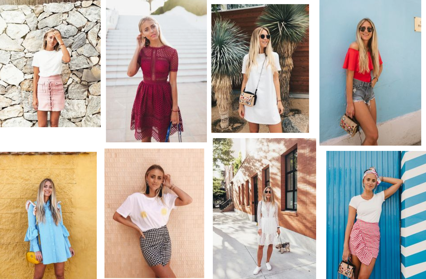 SUMMER OUTFIT INSPO BY JANNI DELÉR